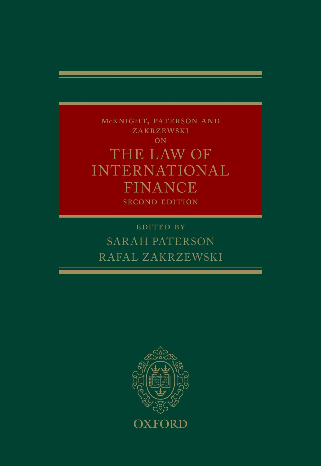 McKnight, Paterson, & Zakrzewski on the Law of International Finance